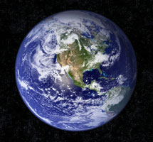 Blue Marble Earth