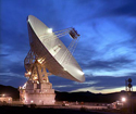 The largest antennas in NASA's Deep Space Network (DSN).