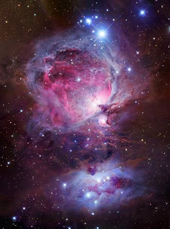 M42, Great Orion Nebula, Astrophotography  by Robert Gendler
